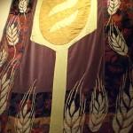 Panera Bread fuzzy Bread wall blanket decor