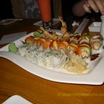Asian Bistro sushi special rolls